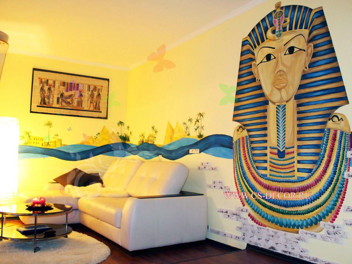 Шторы в египетском стиле