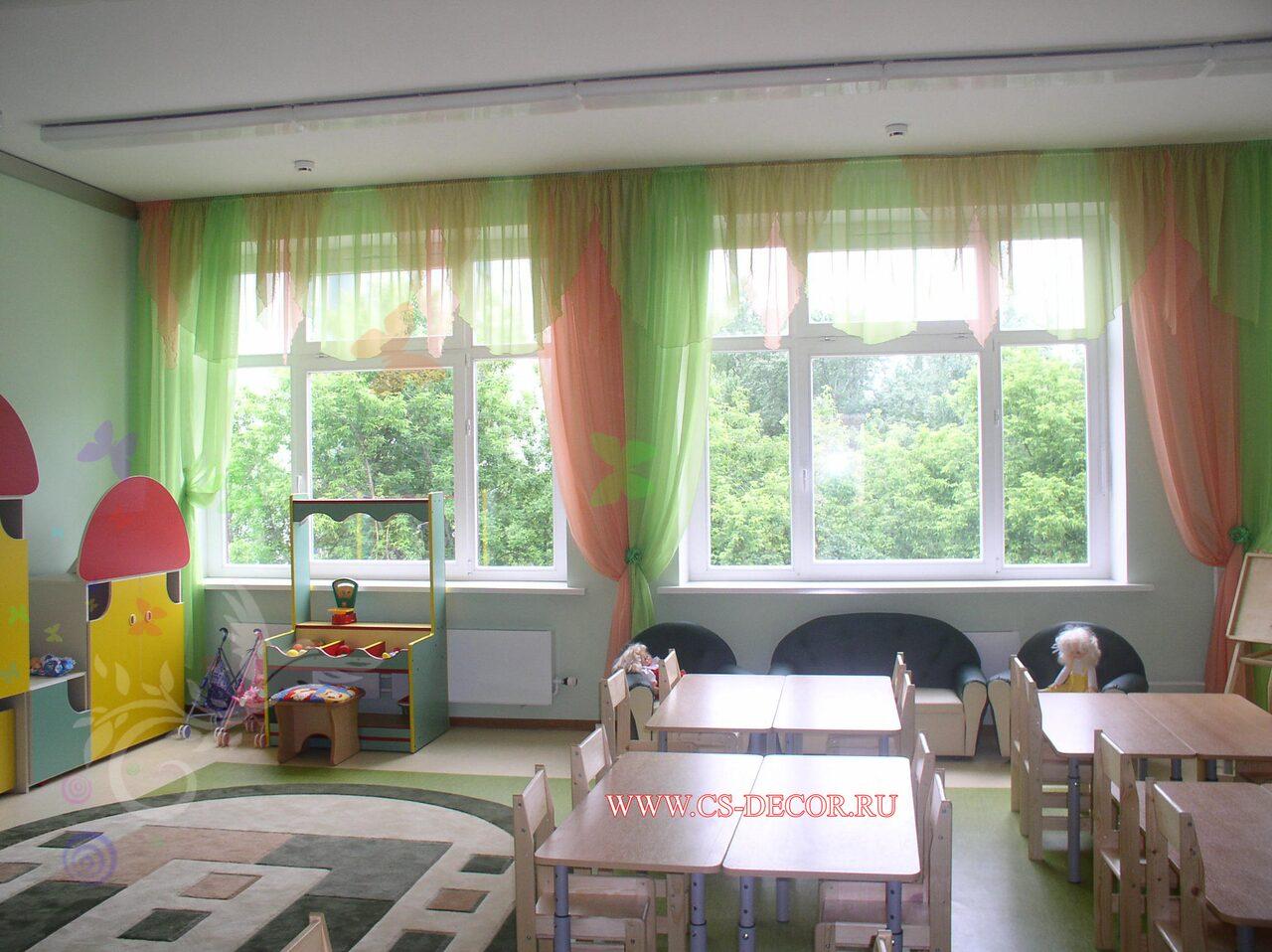 Ламбрекены своими руками для детского сада