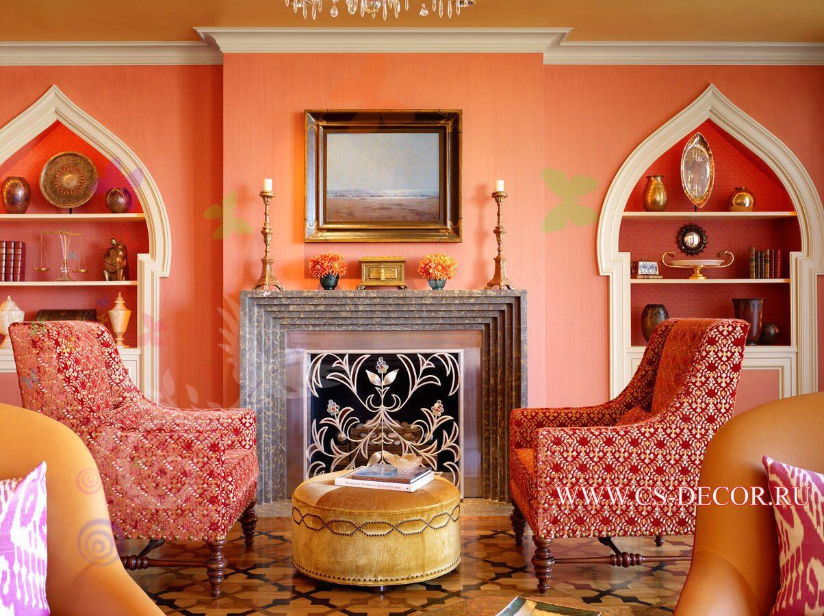 Марокканский стиль в интерьере фото