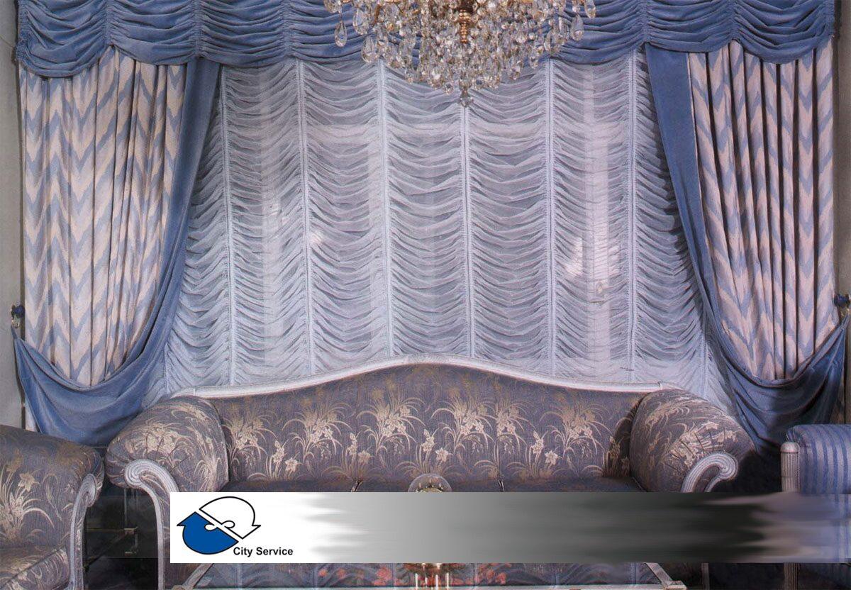 Сшить французские шторы своими руками фото