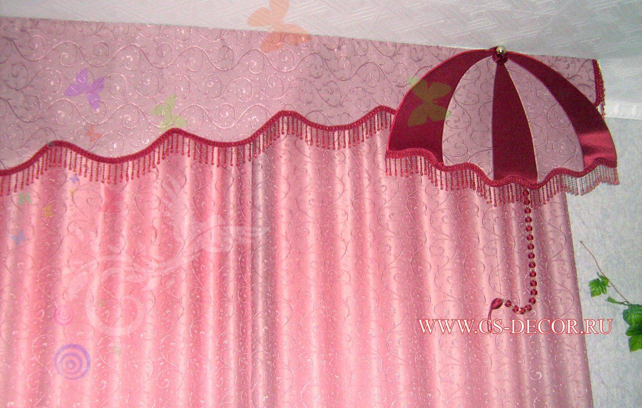 Как сшить детские шторы своими руками