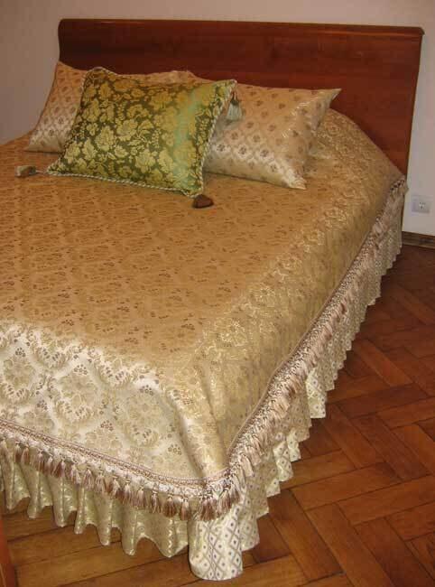Мастер-класс по пошиву покрывала на кровать
